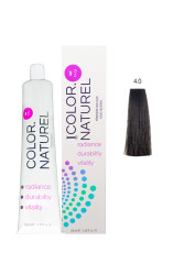 Color Naturel - Color Naturel Saç Boyası 4.0 Koyu Kahve 100 ml