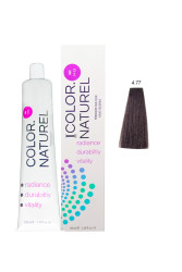 Color Naturel - Color Naturel Saç Boyası 4.77 Acı Çikolata 100 ml