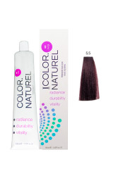 Color Naturel - Color Naturel Saç Boyası 5.5 Koyu Akaju 100 ml
