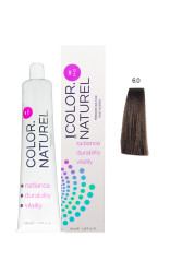 Color Naturel - Color Naturel Saç Boyası 6.0 Koyu Kumral 100 ml
