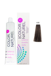 Color Naturel - Color Naturel Saç Boyası 6.00 Yoğun Koyu Kumral 100 ml