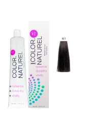 Color Naturel - Color Naturel Saç Boyası 6.1 Küllü Koyu Kumral 100 ml