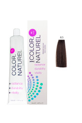 Color Naturel - Color Naturel Saç Boyası 6.3 Altın Koyu Kumral 100 ml