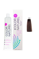 Color Naturel - Color Naturel Saç Boyası 6.35 Altın Akaju 100 ml