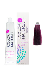 Color Naturel - Color Naturel Saç Boyası 6.56 Orta Akaju Kızıl 100 ml