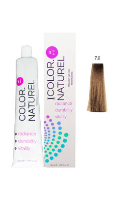 Color Naturel Saç Boyası 7.0 Kumral 100 ml