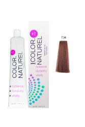 Color Naturel - Color Naturel Saç Boyası 7.34 Altın Bakır 100 ml