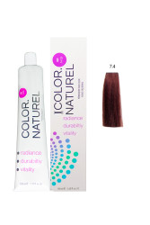 Color Naturel - Color Naturel Saç Boyası 7.4 Orta Bakır 100 ml