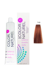 Color Naturel - Color Naturel Saç Boyası 7.43 Bakır Altın 100 ml