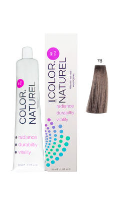 Color Naturel Saç Boyası 7B Koyu Bej 100 ml