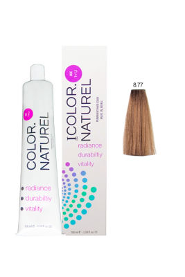 Color Naturel Saç Boyası 8.77 Karamel 100 ml